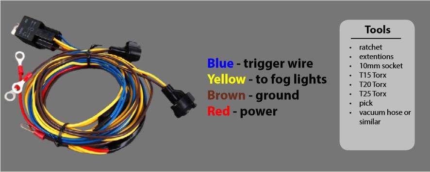 B6 Passat/CC Fog Light Harness Installation Guide – ECS TuningECS Tuning Blog