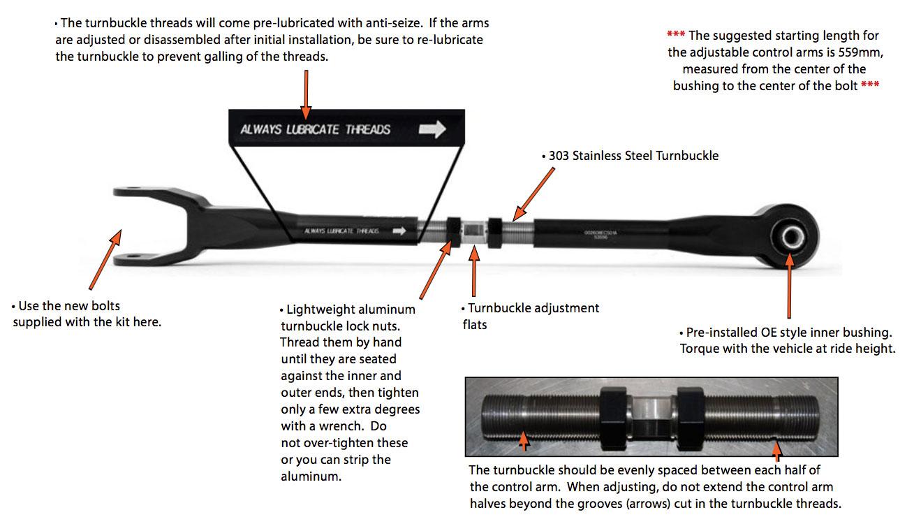 E36 M3 Eccentric Front Wishbone Rear Bushes E46 wishbone arm conversion