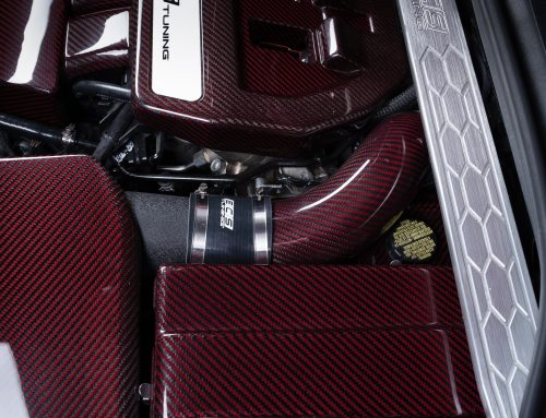 Brand New ECS Red Carbon-Kevlar Intake System for your Volkswagen MK7 GTI