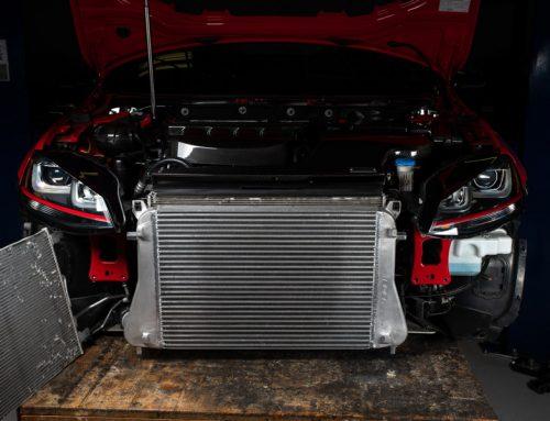 Be Cool: New ECS MQB Cast Aluminum Intercooler Upgrade
